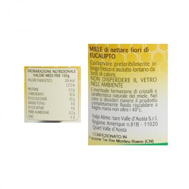 Miele eucalipto etichetta