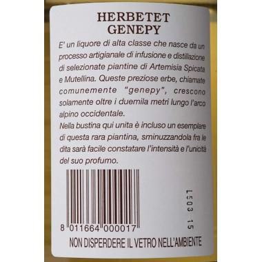 Herbetet Genepy - 700ml